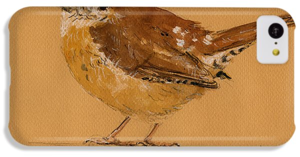 Wren Bird IPhone 5c Case