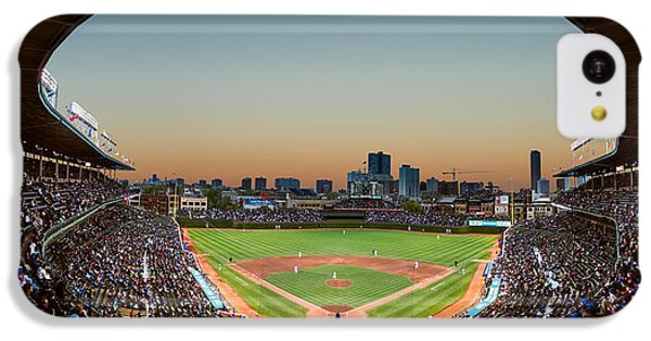 Wrigley Field Night Game Chicago IPhone 5c Case by Steve Gadomski