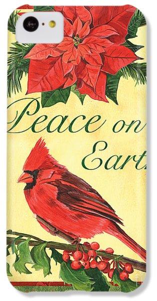 Cardinal iPhone 5c Case - Xmas Around The World 1 by Debbie DeWitt