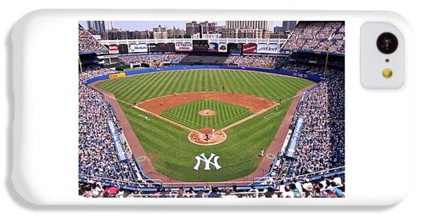 Yankee Stadium IPhone 5c Case by Allen Beatty