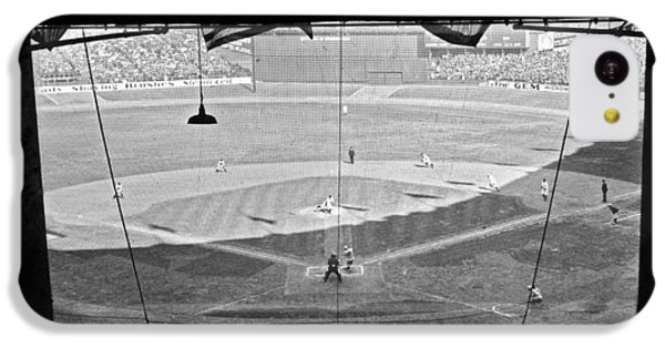 Yankee Stadium Grandstand View IPhone 5c Case by Underwood Archives