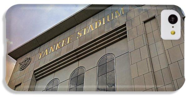 Derek Jeter iPhone 5c Case - Yankee Stadium by Stephen Stookey
