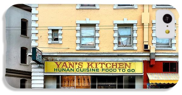 Architecture iPhone 5c Case - Yan's Kitchen by Julie Gebhardt