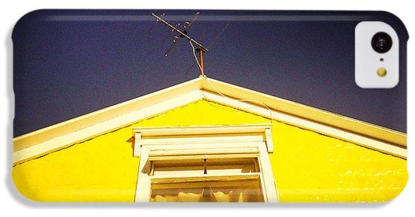 Yellow House In Akureyri Iceland IPhone 5c Case by Matthias Hauser