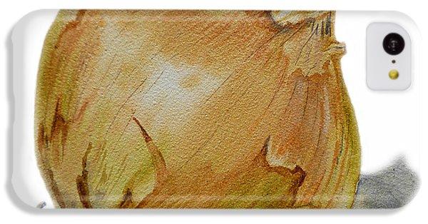 Yellow Onion IPhone 5c Case by Irina Sztukowski