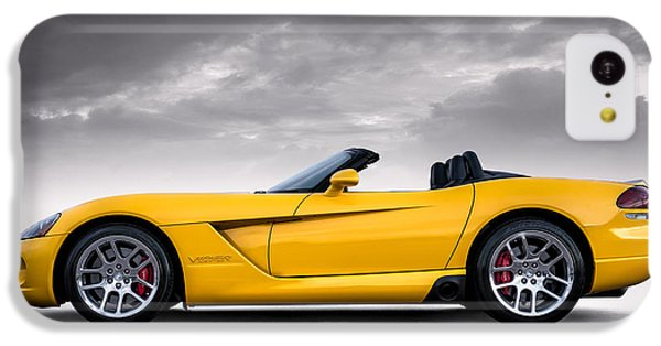 Yellow Viper Roadster IPhone 5c Case