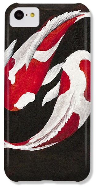 Yin And Yang IPhone 5c Case by Darice Machel McGuire