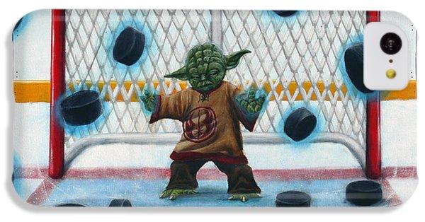 Hockey iPhone 5c Case - Yoda Saves Everything by Marlon Huynh