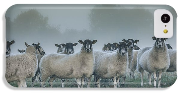 You And Ewes Army? IPhone 5c Case by Chris Fletcher