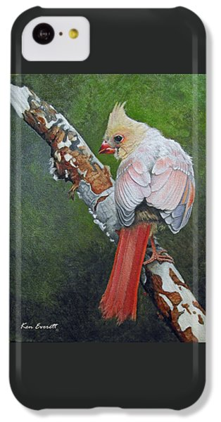 Young Cardinal  IPhone 5c Case by Ken Everett