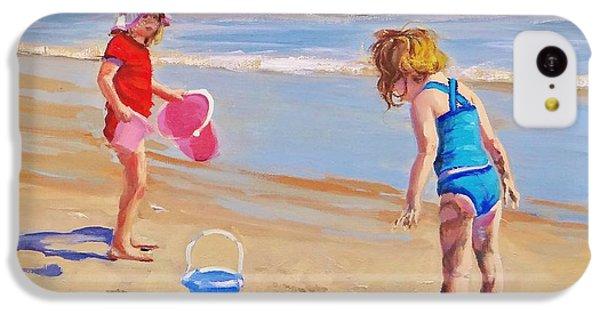 Beach iPhone 5c Case - Yuck by Laura Lee Zanghetti