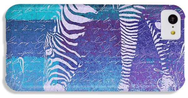Zebra Art - Bp02t01 IPhone 5c Case