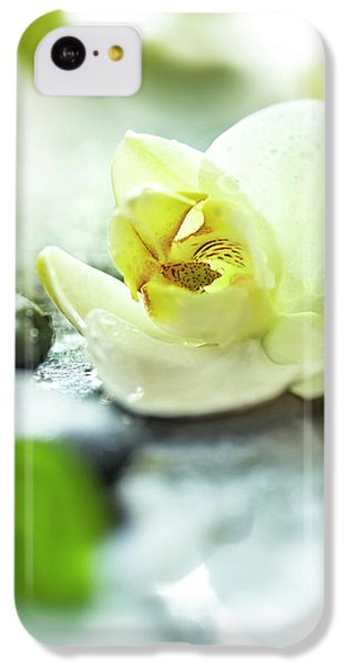 Orchid iPhone 5c Case - Zen Orchid by #name?