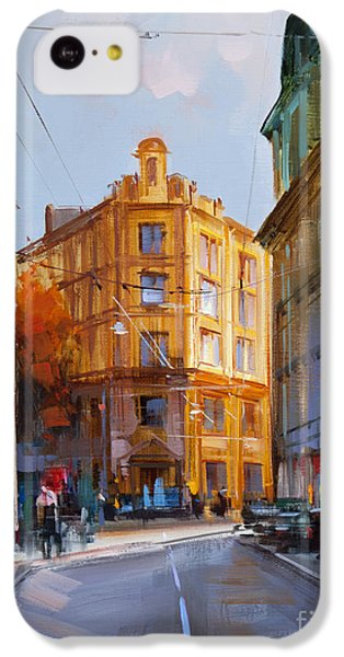 Zlatoustinskiy Alley.  IPhone 5c Case by Alexey Shalaev