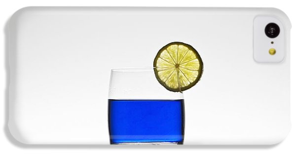 Blue Cocktail With Lemon IPhone 5c Case by Joana Kruse