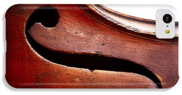 Violin iPhone 5c Case - G Clef by Michal Boubin