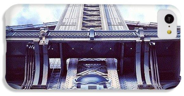 Architecture iPhone 5c Case - Manhattan Bridge by Randy Lemoine