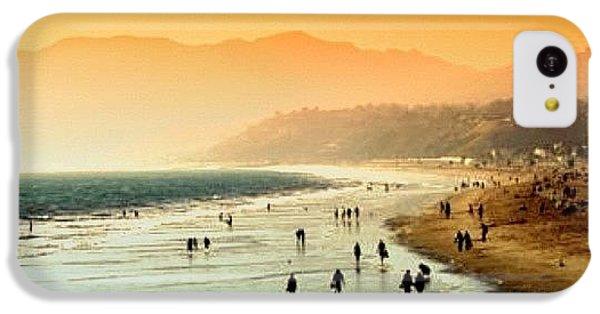 Beautiful iPhone 5c Case - Santa Monica Beach by Luisa Azzolini