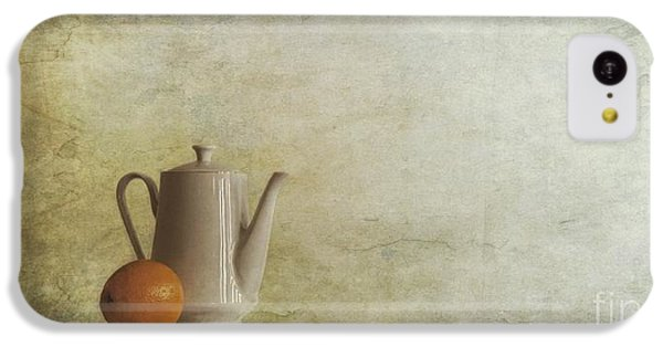 Still Life iPhone 5c Case - A Jugful Tea And A Orange by Priska Wettstein