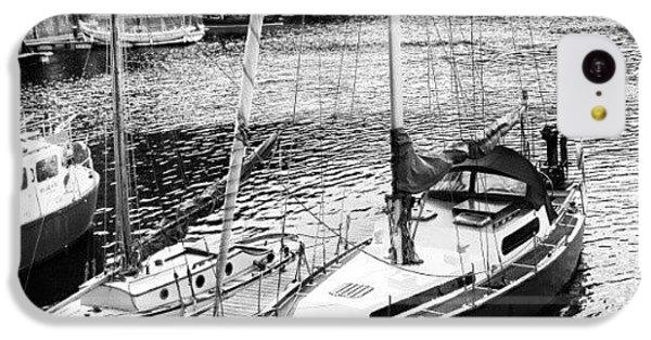 Follow iPhone 5c Case - #albertdock #liverpool #harbor #boat by Abdelrahman Alawwad