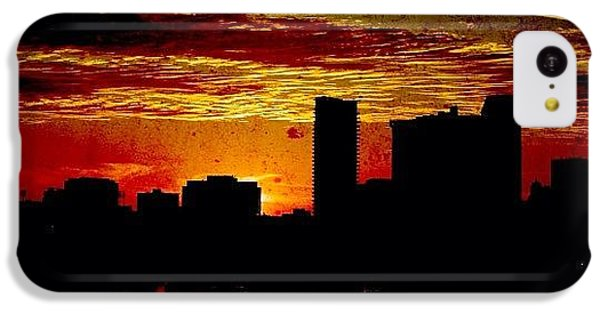 Architecture iPhone 5c Case - And Yet Another Day Closes by Matthew Blum
