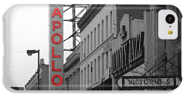 Apollo Theater iPhone 5c Case - Apollo Theater In Harlem New York No.1 by Ms Judi
