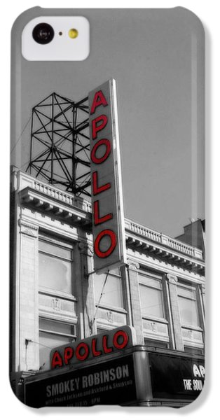 Apollo Theater iPhone 5c Case - Apollo Theater In Harlem New York No.2 by Ms Judi