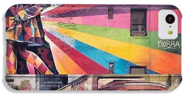 City iPhone 5c Case - Art By Kobra by Randy Lemoine