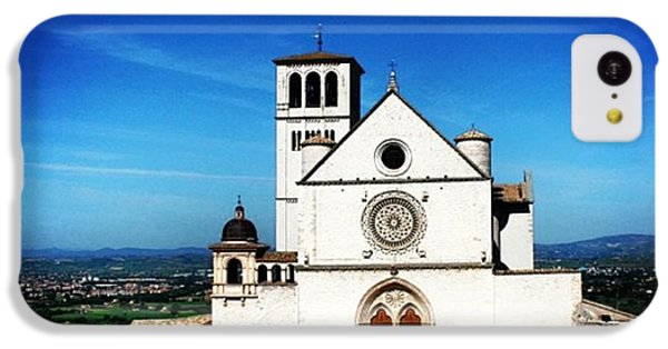 Architecture iPhone 5c Case - Assisi by Luisa Azzolini