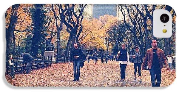 City iPhone 5c Case - Autumn by Randy Lemoine