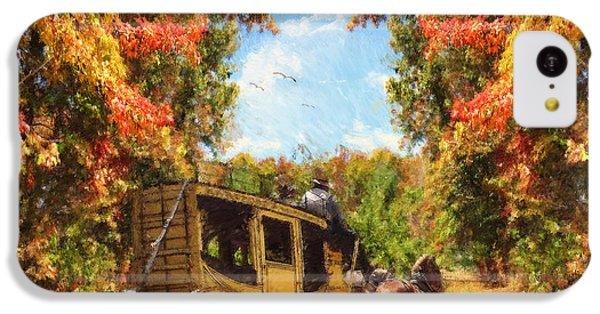Autumn's Essence IPhone 5c Case by Lourry Legarde