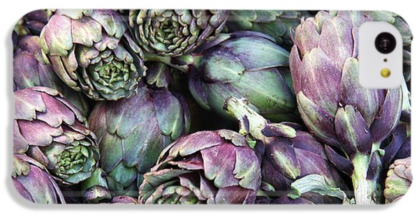 Background Of Artichokes IPhone 5c Case by Jane Rix