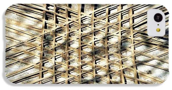 Basket Case.. Thailand #basketmaking IPhone 5c Case by A Rey