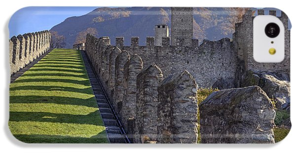 Bellinzona - Castelgrande IPhone 5c Case by Joana Kruse