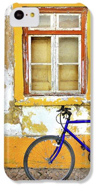 Bicycle iPhone 5c Case - Bike Window by Carlos Caetano