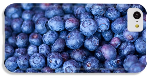 Blueberries IPhone 5c Case by Tanya Harrison