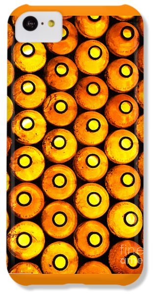 IPhone 5c Case featuring the photograph Bottle Pattern by Nareeta Martin