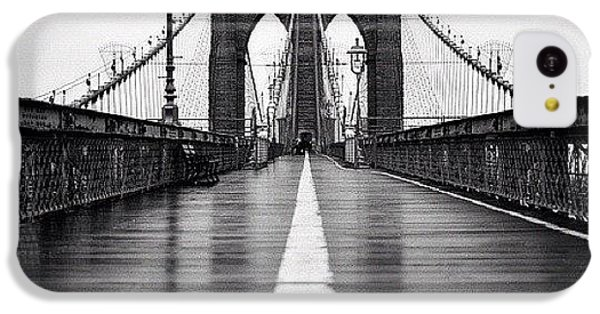 Summer iPhone 5c Case - Brooklyn Bridge by Randy Lemoine