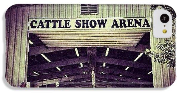 Ohio iPhone 5c Case - Cattle Show Arena by Natasha Marco