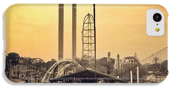 iPhone 5c Case - #cedarpoint #ohio #ohiogram #amazing by Pete Michaud