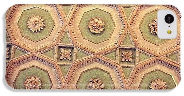 Decorative iPhone 5c Case - Ceiling by Emma Hollands