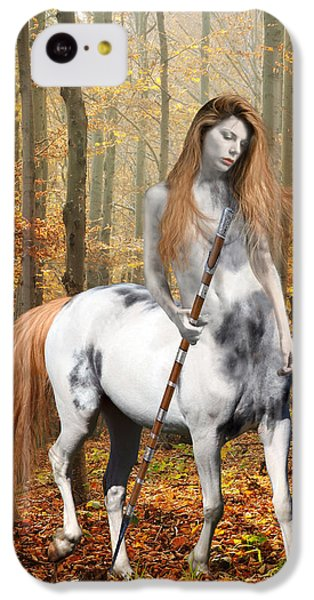 Centaur Series Autumn Walk IPhone 5c Case by Nikki Marie Smith