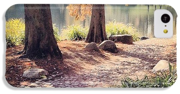City iPhone 5c Case - Central Park Early Morning by Randy Lemoine