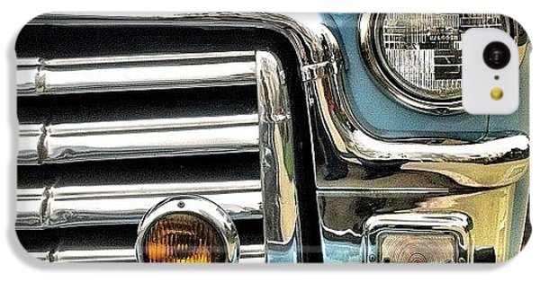 Classic iPhone 5c Case - Classic Car Headlamp by Julie Gebhardt
