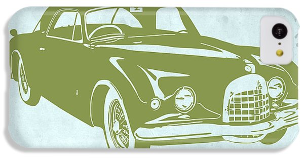 Landmarks iPhone 5c Case - Classic Car by Naxart Studio
