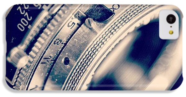 #classic #vintage #retro #lense #camera IPhone 5c Case