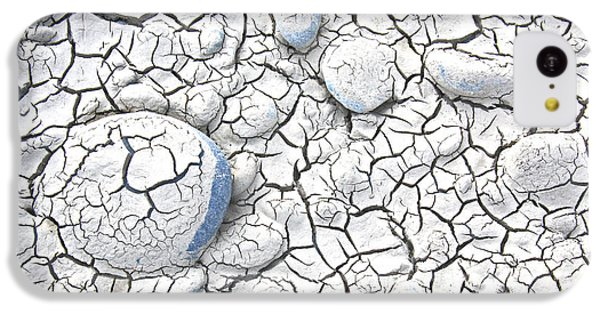 IPhone 5c Case featuring the photograph Cracked Earth by Nareeta Martin