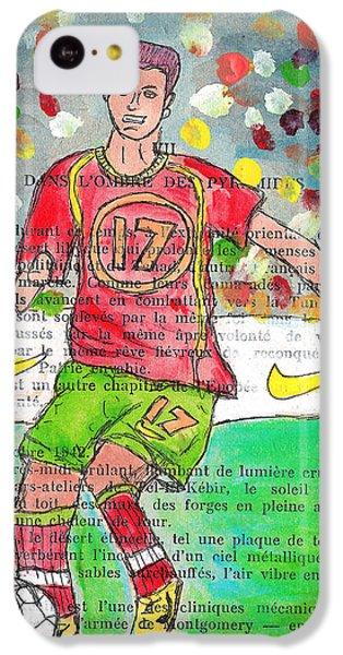 Cristiano Ronaldo IPhone 5c Case by Jera Sky