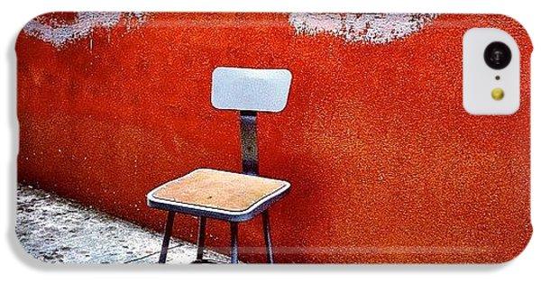 City iPhone 5c Case - Empty Chair by Julie Gebhardt