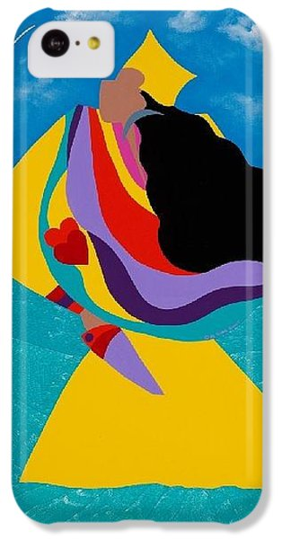 iPhone 5c Case - Erzulie Haitian Goddess Of Love by Synthia SAINT JAMES